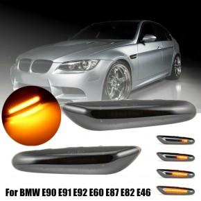 Clignotant latéral séquentiel Led POUR BMW E90 E91 E92 E60 E87 E82 E46