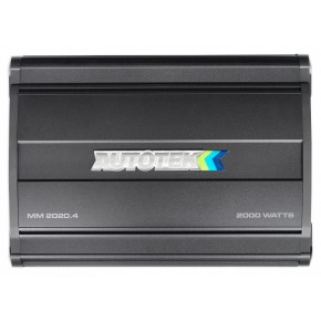 AUTOTEK MM2020.4 Amplificateur de voiture à 4 canaux de classe A / B Mean Machine 2000 watts