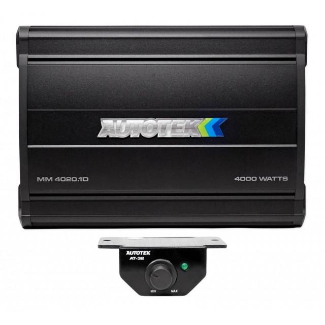 AUTOTEK MM4020.1D Amplificateur de voiture mono de la classe D