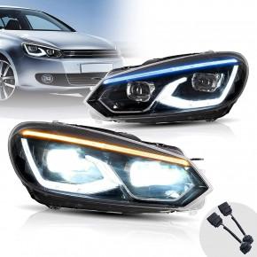 Phare avant à LED Dynamique Golf 6 MK6 2008–2013