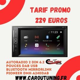 Autoradio PIONEER DMH-A240DAB au tarif de 229 euros !  Dispo de suite au Magasin !  Commande possible sur : hthttps://www.caroutuning.fr/autoradios-pioneer/347-autoradio-pioneer-dmh-a240dab-2din-62-pouces-dab-usb-bluetooth-mirrorlink-.html  Paiement en 4 fois sans frais !  Livraison gratuite possible sur : 𝗝𝗮𝗿𝗿𝘆   𝗖𝗔𝗥𝗢𝗨 𝗧𝗨𝗡𝗜𝗡𝗚 𝗖𝗢𝗡𝗖𝗘𝗣𝗧 𝗔𝗨 𝗡𝗜𝗩𝗘𝗔𝗨 𝗗𝗨 𝗥𝗢𝗡𝗗 𝗣𝗢𝗜𝗡𝗧 𝗗𝗨 𝗦𝗧𝗔𝗗𝗘 𝗗𝗘 𝗥𝗜𝗩𝗜𝗘𝗥𝗘 𝗗𝗘𝗦 𝗣𝗘𝗥𝗘𝗦 𝗙𝗔𝗖𝗘 𝗔 𝗟𝗔 𝗦𝗧𝗔𝗧𝗜𝗢𝗡 𝗗𝗘 𝗟𝗔𝗩𝗔𝗚𝗘 𝗠𝗢𝗨𝗦𝗦 𝗔𝗨𝗧𝗢 𝗕𝗔𝗦𝗦𝗘-𝗧𝗘𝗥𝗥𝗘 📞𝟬𝟲𝟵𝟬𝟵𝟬𝟭𝟭𝟲𝟲 𝐢𝐧𝐟𝐨@𝐜𝐚𝐫𝐨𝐮𝐭𝐮𝐧𝐢𝐧𝐠.𝐟𝐫 𝘄𝘄𝘄.𝗰𝗮𝗿𝗼𝘂𝘁𝘂𝗻𝗶𝗻𝗴.𝐟𝐫