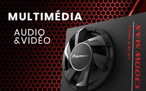 Multimédia audio & vidéo pour voiture